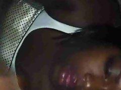 Ebony Amateur Tgirl