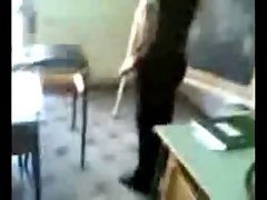 Italian Students Fondle Their Teacher
