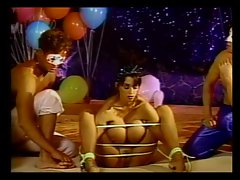 Baloons and dirty BDSM foursome
