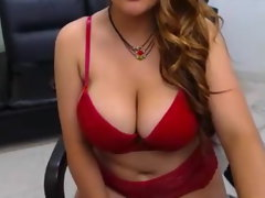 Big-boobed Latina