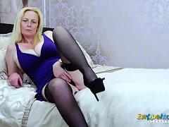 EuropeMaturE Blondie Suzie Solo Playthings Onanism