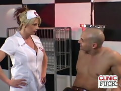 Top heavy Nurse Brooke Haven