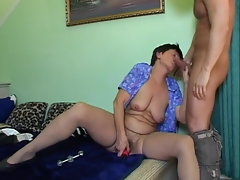 Grandmoms hirsute vagina