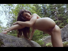 Lovely Sexual Irene at the Waterfall