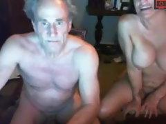grandpa with her tramp