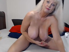 Chesty GILF JOI and Creamy Dildoing