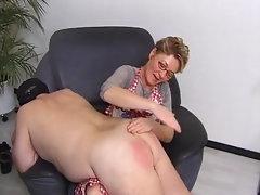 Spanking stepmom