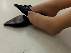 Shoeplay with my mules