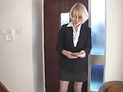 Hazel May Stairway Masturbation