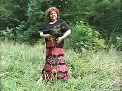Granny in the wild