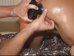 Mature amateur wife anal and pussy fisting