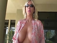 Busty mature milf gets mouth and pussy fucked