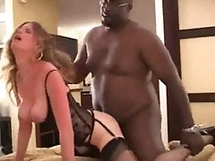 Amateur Wife With First Black Man - free sex video
