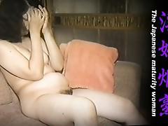 The Japanese maturity woman