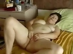 My old slut loves to be watched while she masturbates