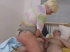 kinky blonde mature