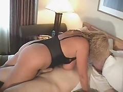 Hot Curvy Busty Older Cougar Gets Kinky