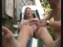 Watch horny grandma great orgasm