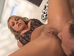 Hot Blonde Cougar Shayla LaVeaux