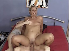 Mature couple and girl-trasgu
