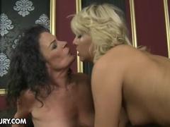 A horny mama and a hot babe