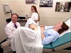 A real exam video from a hairy mature woman 2