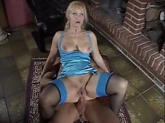Mature german Blonde