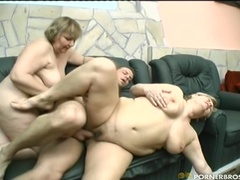 Two GILF's And One Cock