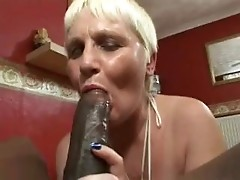 Interracial Granny Sex