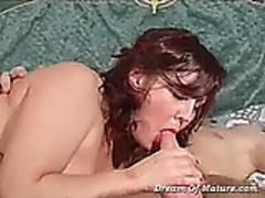 Mature sex and blowjob