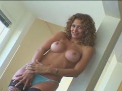 Monique Fuentes masturbating and fucking