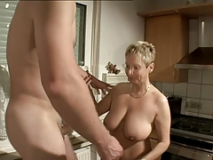 Nicely Breasted Mature Fuck