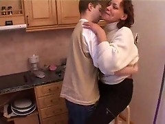 A russian boy fuck his mother