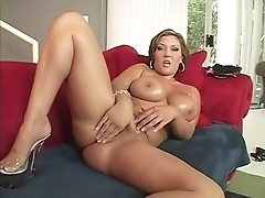 Big boobs & fat pussy lips Claire Dames make crazy