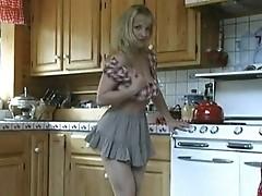 Danni Ashe Masturbation Countertop