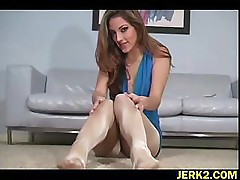 Pantyhose worship for Jenna Haze