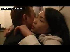 Japanese girl is getting the hard cock and not too thrilled