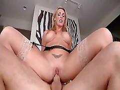 Tanya Tate gives great head and fucks porn star Jordan Ash