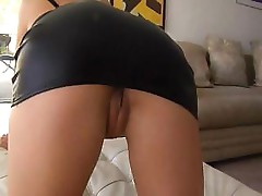 Hot blonde Lea Lexus gets a big black dick in her ass and sucks