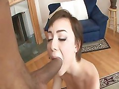 Zoe Voss uses her sucking skills on a bunch of hard cocks