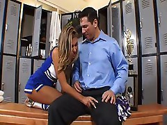 Aubrey Addams is a cheerleader who likes big dicks to fuck