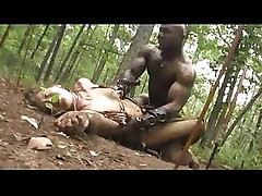 Amazan and black warriors meet and end up fighting for sex