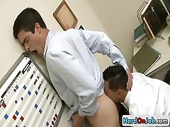 Hot ass rimming at the office by hardonjob