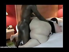 Huge ssbbw pear with big booty fucked well