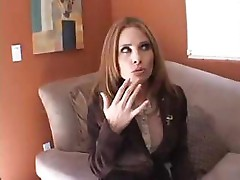 Redhead milf Ginger Lea enjoys hard bang