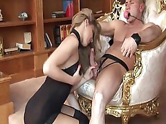 Torturing cute Choky Ice pleases Cindy Hope bitch