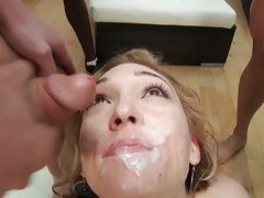 Lily Luvs babe like the spewed of many penis butter