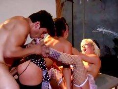 Crista Moore and Jayden James get hard butt-bang