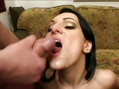 Victoria Sin love the men come off to her face