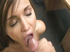 Lily Carter love taking all the cum load